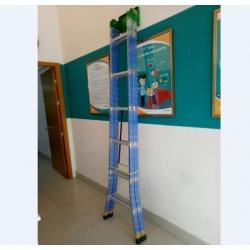 Thang nhôm sơn tĩnh điện chữ A cao 6 m