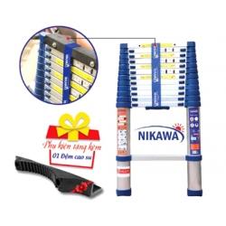 Thang nhôm rút đơn Nikawa NK38